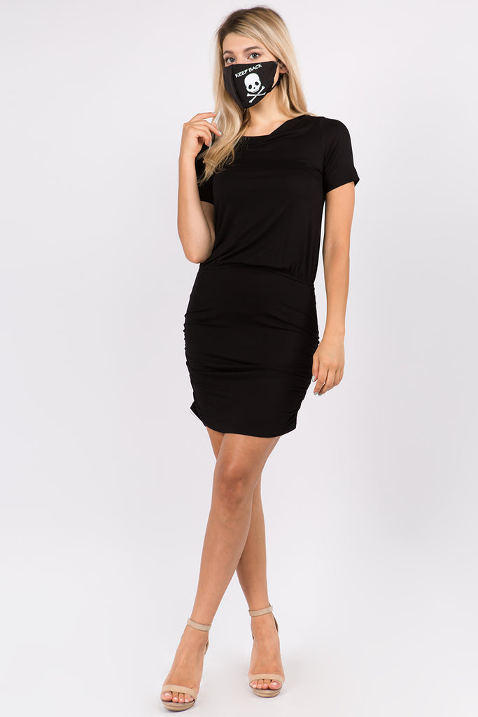 JEMIME DRESS (BLACK)- VD2771