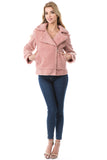 MOLLY RIDER JACKET (Dusty Pink)-VJ1970