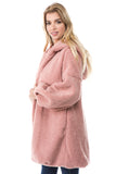 MOLLY LONG BODY COAT (Dusty Rose)-VJ2011