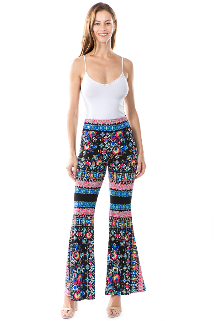 EDEN PANTS (BLACK MULTI)- VP2276