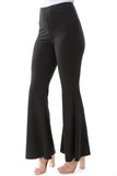 RIB PANTS (BLACK)- VP2276-RIB FABRIC