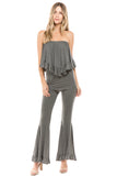 BEYONCE PANTS (HEATHER GREY)- VP2402