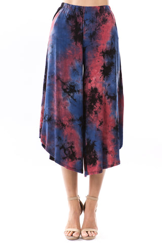 LUX PANTS (NAVY TIE DYE)-VP2777T