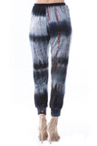 LUX JOGGER PANTS (BAMBOO BLACK-GREY TIE DYE)-VP2780T