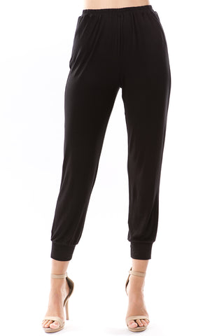 LUX JOGGER PANTS (BLACK)-VP2780