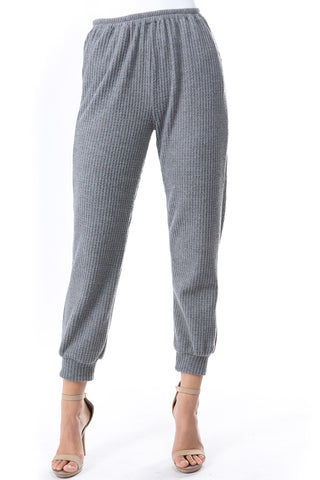 LUX JOGGER PANTS (BRUSH GREY)-VP2780