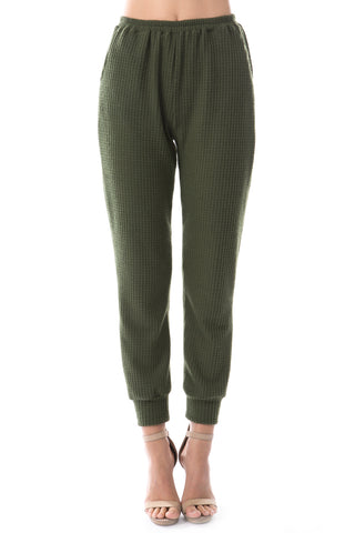 LUX JOGGER PANTS (BRUSH OLIVE)-VP2780
