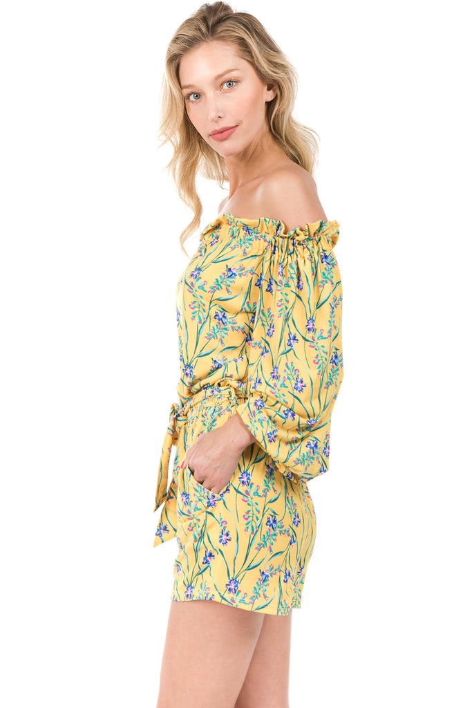 Poppy Romper (YELLOW)- VR2230