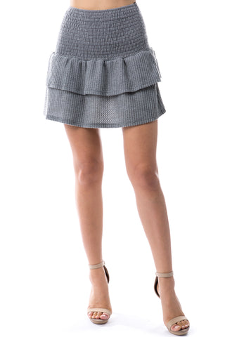 Valentina Skirt (BRUSH GREY)-VS9785