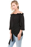 SKYLAR TOP (Black)- VT2205