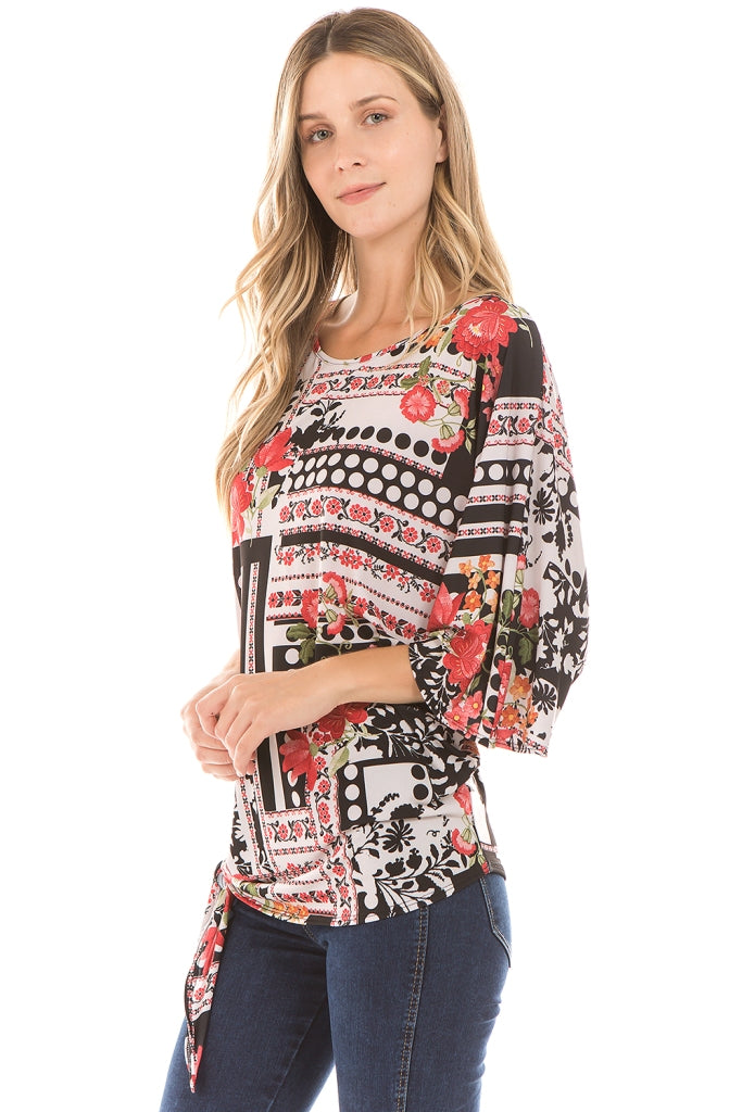 PIPPA ASYMMETRICAL TOP (MULTI)-VT2279