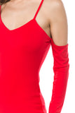ROXY TOP (RED)- VT2576