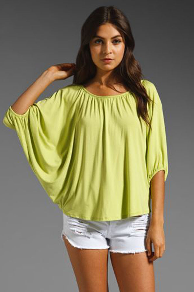 JAMES TOP (LIME)-JT7150