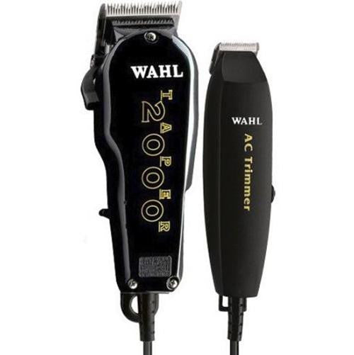 Wahl Essentials Combo Taper 2000 Hair Clipper + AC Trimmer 8329