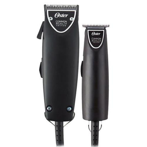Oster Professional Common Wealth Edition Fast Feed Clipper + T-Finisher Trimmer Combo Kit