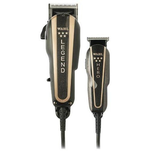 Wahl 5 Star Barber Combo Legend Clipper & Hero Trimmer 8180