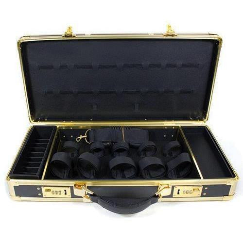 Hairart Black & Gold Barber Stylist Lock Case Organizer