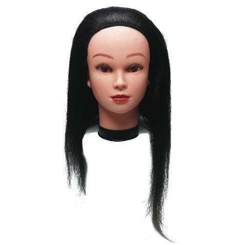 "Professional Styling Manikin Head 16"" Female Cosmetology Hair Cutting Mannequin"