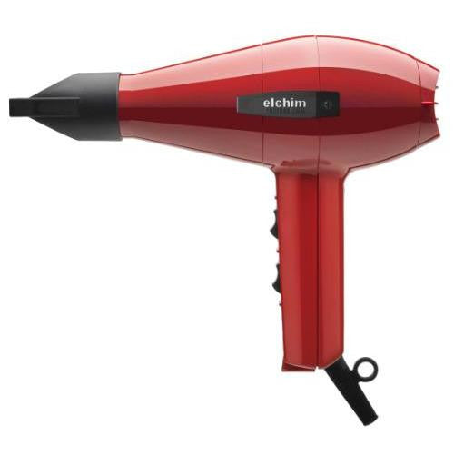 Elchim 2001 Professional Salon Hair Dryer - Red