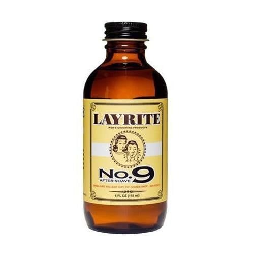 Layrite No.9 Aftershave 4oz Styling Bay Rum