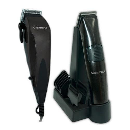 Chromatique ProLine Professional Hair Clipper & Cordless Trimmer Haircut Kit
