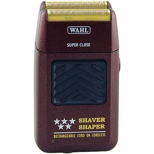 Wahl 5 Star Cordless Shaver 8061-100 Bump Free Anti-Allergic Gold Foil