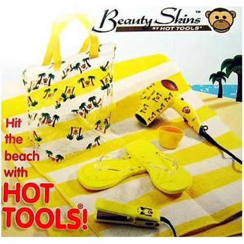 Hot Tools Beach Combo Travel Hair Dryer & Flat Iron