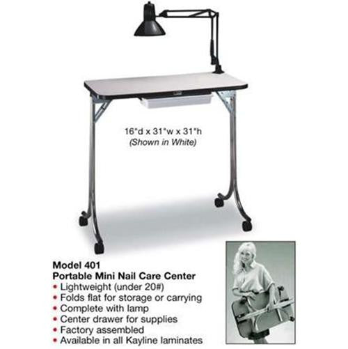 Kayline Portable Manicure Table Nail Care Center 401
