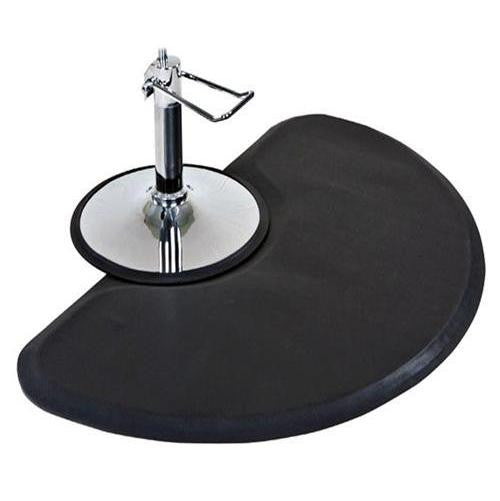 Anti Fatigue Semi Circle Hair Stylist Salon Barber Floor Mat