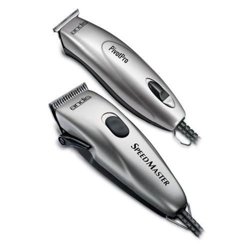 Andis Professional Speed Master Clipper + Pivot Pro Motor Trimmer Combo 23965