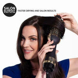Hot Tools Professional 24k Gold One-Step Blowout Salon Hair Styling Brush Tool HT1076