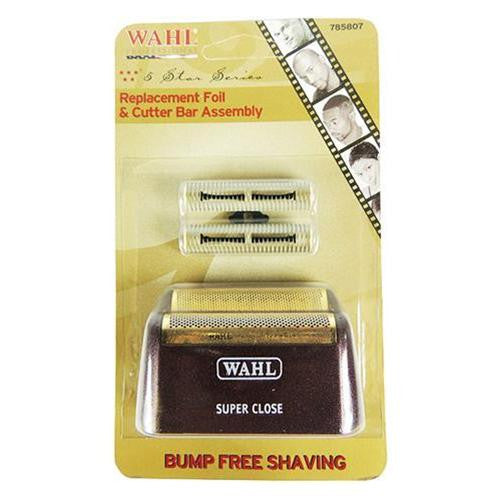 Wahl 5 Star Shaver Replacement Gold Foil Model 7031-100