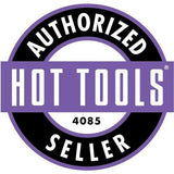 "Hot Tools 1-1/4"" Flipperless Nano Ceramic Titanium Curling Wand Iron HTBW1861"