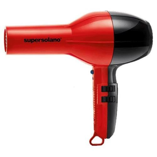 Super Solano Professional Salon Hair Dryer 232 Red & Black