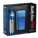 Babyliss Pro BlueFX Metal Skeleton Outlining Cordless Trimmer & Shaver Combo