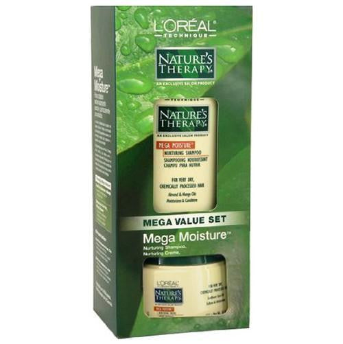 L'oreal Nature's Therapy Mega Moisture Value Set Shampoo + Hair Nurturing Creme
