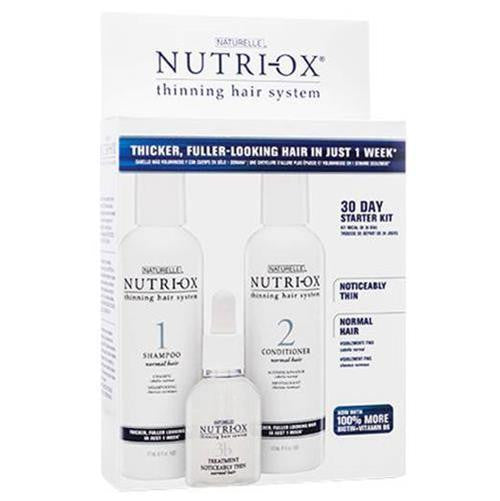 Nutri-Ox 30 Day Starter Kit For Noticeably Thin Normal Hair
