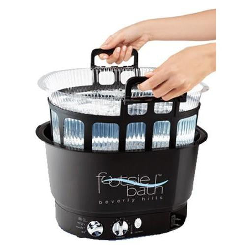 Footsiebath Pedicure Spa and Disposable Liner System