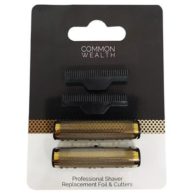 Common Wealth Professional Shaver Replacement Gold Foil & Inner Cutters CWPSRF13