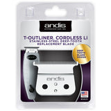Andis Cordless T-Outliner Li Stainless Steel Deep Tooth Replacement Blade 04575