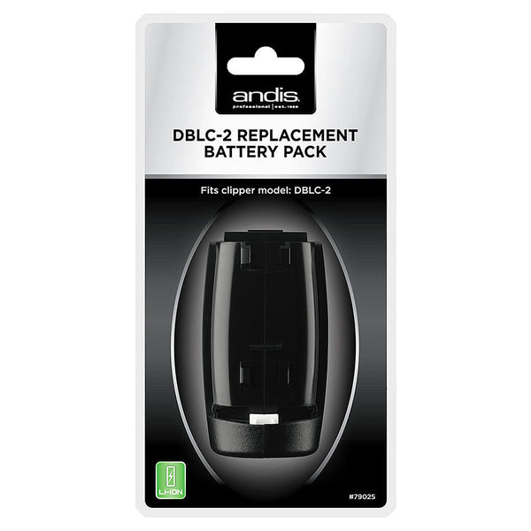 Andis DBLC-2 Replacement Battery Pack For Supra ZR II 79025