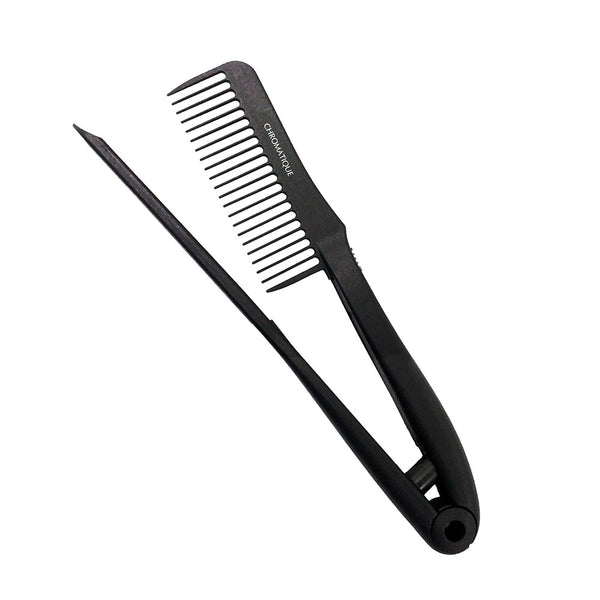 Chromatique Pro Brazilian Keratin Treatment Anti-Static Hair Straightening Comb Tension Tool