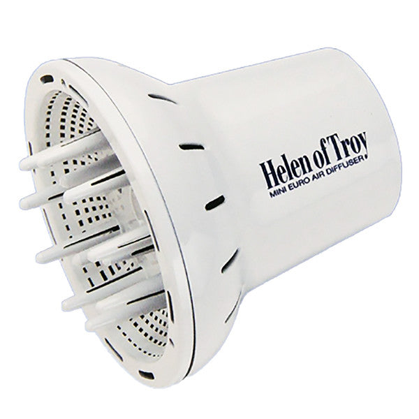 Helen Of Troy Professional Mini Euro Hair Dryer Finger Diffuser 1528 White