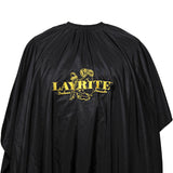 Layrite Professional Hair Cutting Cape Black