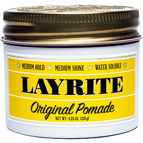 Layrite Original Hair Pomade 4.25oz Pomade Hair Styling Wax Medium Hold Shine