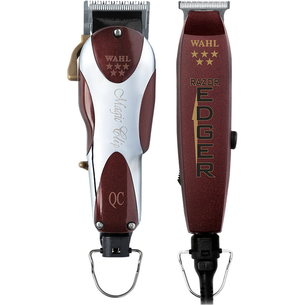 Wahl 5 Star Unicord Magic Clipper & Razor Edger Trimmer Combo 8242