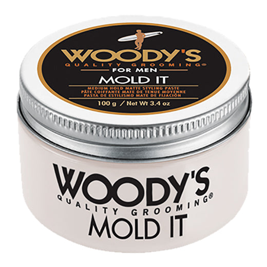 Woody's Mold It Styling Paste for Men 3.4oz Medium Hold