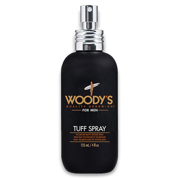 Woody's Tuff Texture Spray 4oz Volumizing Matte Hair Styling Spray