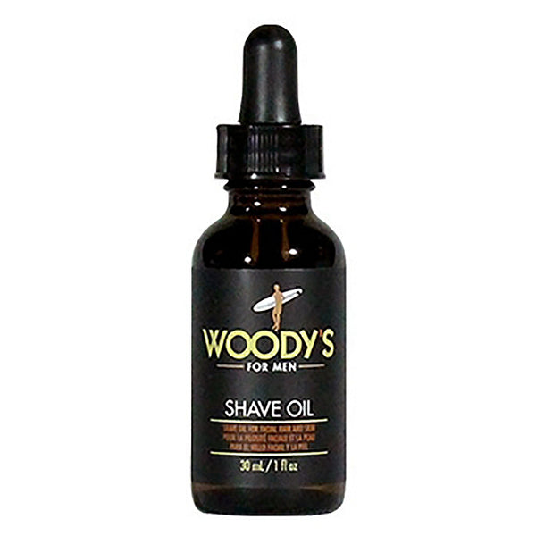 Woody's Shave Oil for Men 1oz