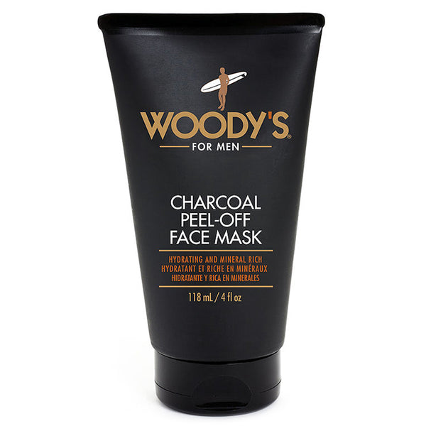 Woody's Charcoal Peel-Off Face Mask For Men